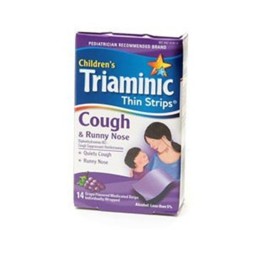 Triaminic Cough & Runny Nose Thin Strips-14 ct