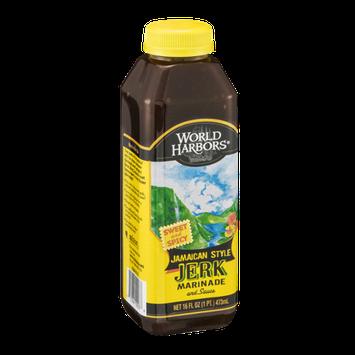 World Harbors Jamaican Style Jerk Marinade and Sauce