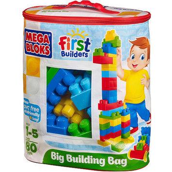 Mega Bloks Big Building Bag 80-Piece Classic Building Set
