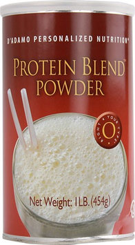 D'Adamo Personalized Nutrition Protein Blend Powder (Type 0) 454g