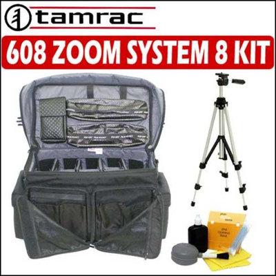 Tamrac 608 Pro System 8 Black + Camera Accessory Package - Tamrac ATMC608BK2