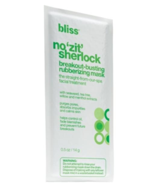 Bliss No 'Zit' Sherlock Rubberizing Mask