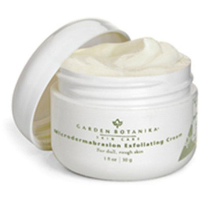 Microdermabrasion Exfoliating Cream Garden Botanika 1.0 oz Cream