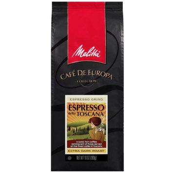 Melitta Espresso Della Toscana Coffee, 10 oz
