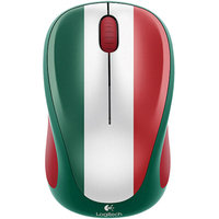 Logitech M317 Wireless Mouse - Mexico Stripe, Optical Tracking, Unifying Receiver, On And Off Switch - 910-004021