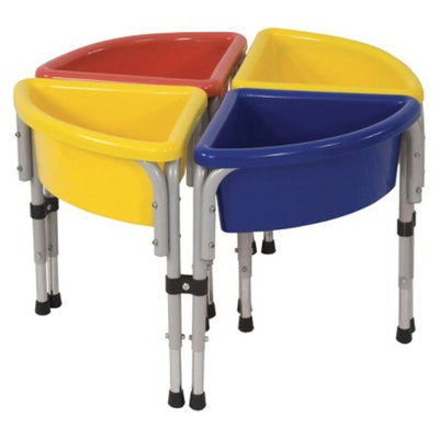 ECR4Kids ECR4KIDS Round Sand/Water Table with Lids
