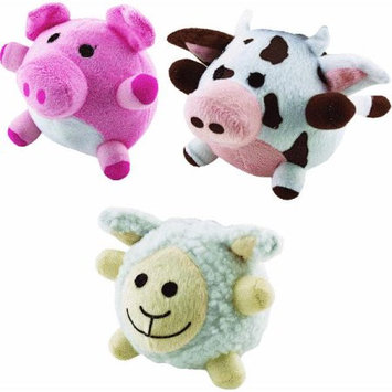 Ruffin It Ruffin' It 780310 Barn Yard Buddies Plush Dog Toys