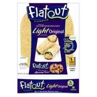 Flatout Bread Flatout Light Wraps, Garden Spinach, 6 wraps