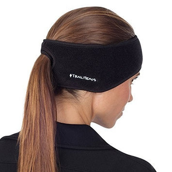 TrailHeads Goodbye Girl Ponytail Headband - red / black