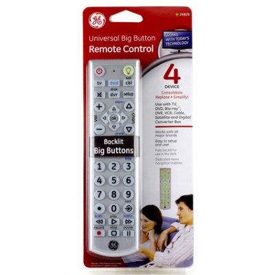 Jasco Universal Big Button Remote Control