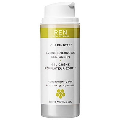 REN T-Zone Balancing Gel Cream, Combination, 1.7 fl oz
