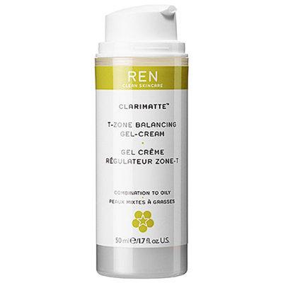 REN T-Zone Balancing Gel Cream, Combination, 1.7 fl oz