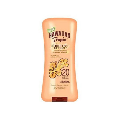 Hawaiian Tropic® Shimmer Effect Broad Spectrum SPF 20 Lotion Sunscreen
