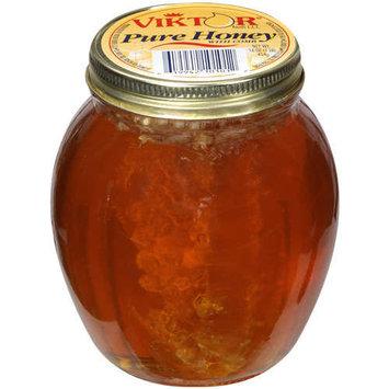 Viktor Foods L.L.C: w/Comb Pure Honey, 16 Oz