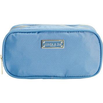 Olivia + Joy Zoom Zoom Duffle Cosmetic Bag Denim blue - Olivia + Joy Ladies Cosmetic Bags