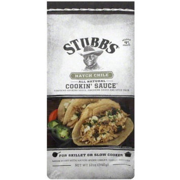Stubb's Hatch Chile Cookin' Sauce, 12 oz, (Pack of 12)