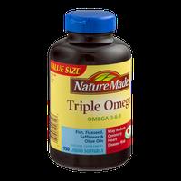 Nature Made Triple Omega Liquid Softgels Value Size - 150 CT