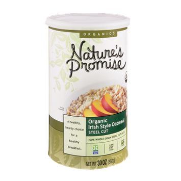 Nature's Promise Organics Organic Oatmeal Irish Style Steel Cut
