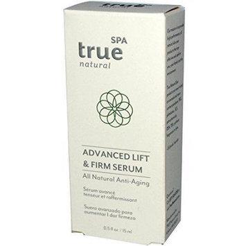 Advanced Lift & Firm Serum True Natural Spa 0.5 oz Liquid