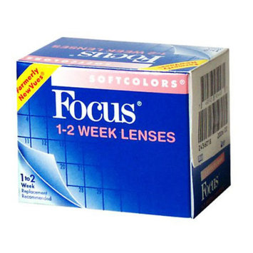 Focus Softcolors 1-2 Week Contact Lenses 1 Box