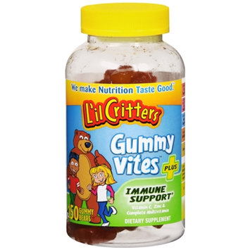 L'il Critters Gummy Vites Plus Immune Support Vitamins - 150 Count