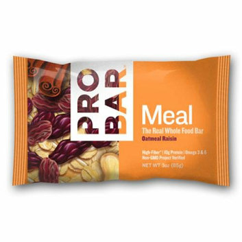 Probar Bar Organic Oatmeal Raisin Bar Case of 12 3 oz
