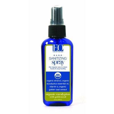 EO Hand Sanitizer Spray- Organic Eucalyptus, 2-Ounce
