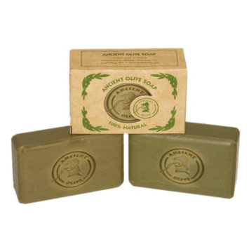 Ancient Olive Natural Olive Oil & Laurel Oil Molded Bar Soap, Value Pack Unscented
