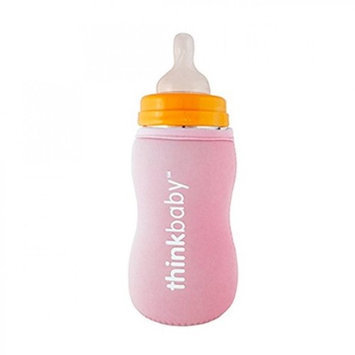 Limestone Thermal Bottle Sleeve Pink thinkbaby 1 Cover
