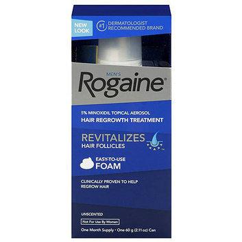 Rogaine for Men Hair Regrowth Treatment Foam 2.11oz