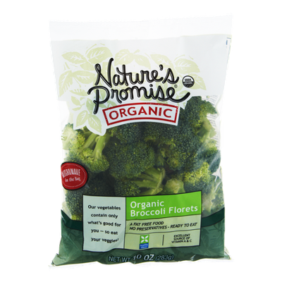 Nature's Promise Organic Broccoli Florets