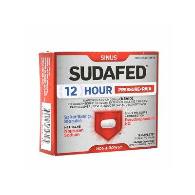 Sudafed Sinus Pain Caplets