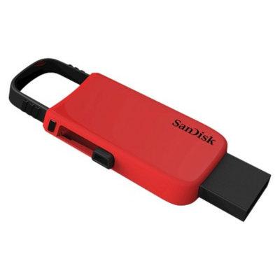 SanDisk Sandisk Fashion 16GB USB Flash Drive Keychain - Blue/Red (SDCZ59-016G-