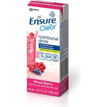 Ensure Clear! Mixed Berry Brikpaks 32 X 6.7oz Case