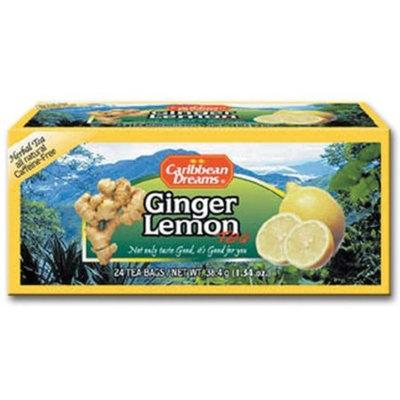 Caribbean Dreams Ginger Lemon Tea, 24 tea bags