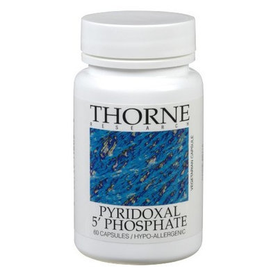 Thorne Research - Pyridoxal 5'-Phosphate - 60 Vegetarian Capsules