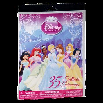 Disney Princess Tattoos Tatouages- 35 PK