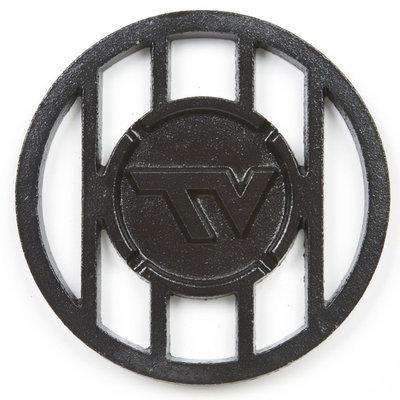 Designcast Specialties NCAA Grill Topper Hamburger Iron, Virginia Tech Hokies