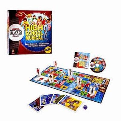 Mattel High School Musical 2 DVD Game Ages 8+