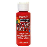 DecoArt Crafters Acrylic 2 oz Christmas red