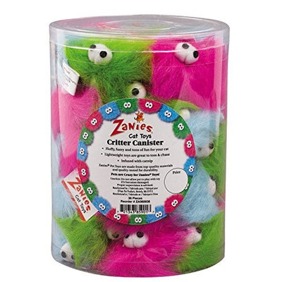 Zanies Critter Canister - 36 Pieces - ZA0859 36