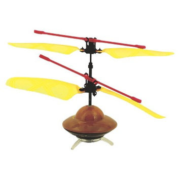 Orbits Orbit Aero-Bot Infrared Rc Flying Saucer - Yellow