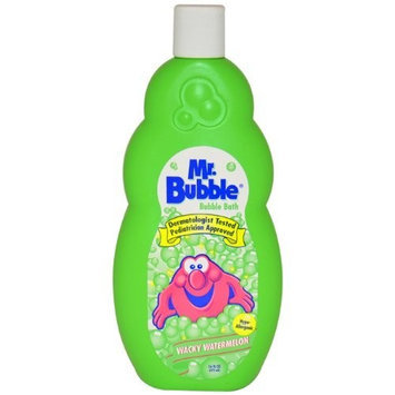 Bubble Bath Wacky Watermelon Kids Bubble Bath by Mr. Bubble, 16 Ounce