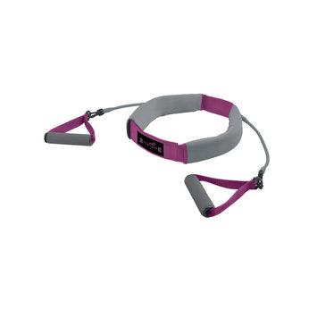 Southbend Sporting Goods Inc. ZoN Pink Weighted Walking Belt with Resistance Tubes