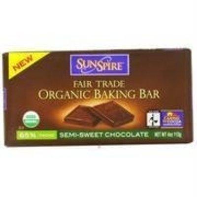 SunSpire Organic Baking Bar Semi-Sweet -- 4 oz