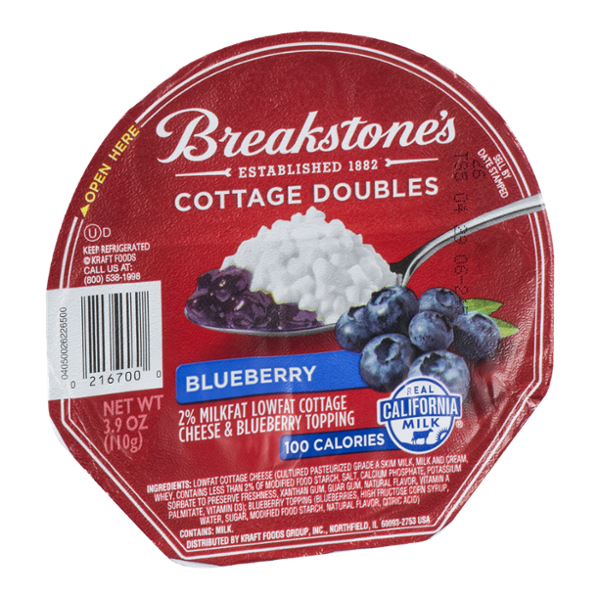 Breakstone's Cottage Doubles Cottage Cheese Blueberry