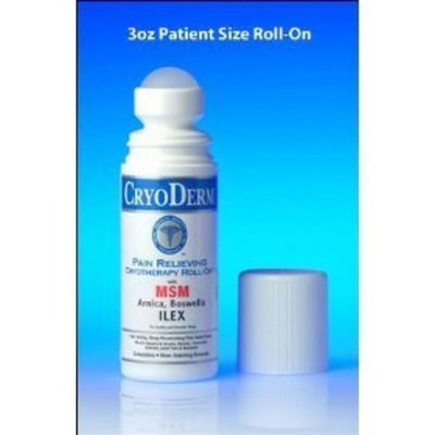 CryoDerm Analgesic Cryotherapy 3.0 oz Roll On - Pain Relief