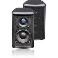 Pinnacle Speaker QP2 2 Element LCR For Flat Panel TVs Black Discontinued By Manufacturer HEC0MIR9H-1612
