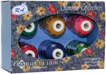 Robison-anton Thimbleberries Cotton Thread Collections 500 Yards 6/Pkg-Summer