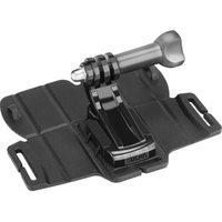 USA Gear Large Adhesive Mount for Action and Compact Cameras with Universal J Hook and Tripod Screw Adapter - Works with GoPro, Sony, Coleman, MetroFlash and More